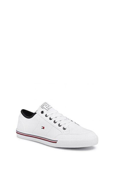 Tommy Hilfiger Erkek Beyaz Sneaker Fm0fm02676