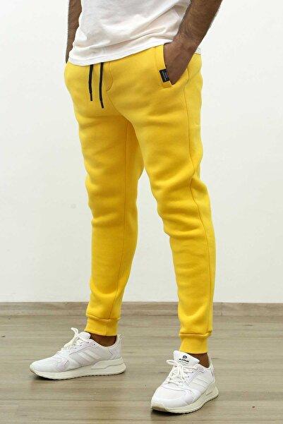 Madmext Basic Sarı Eşofman 4210