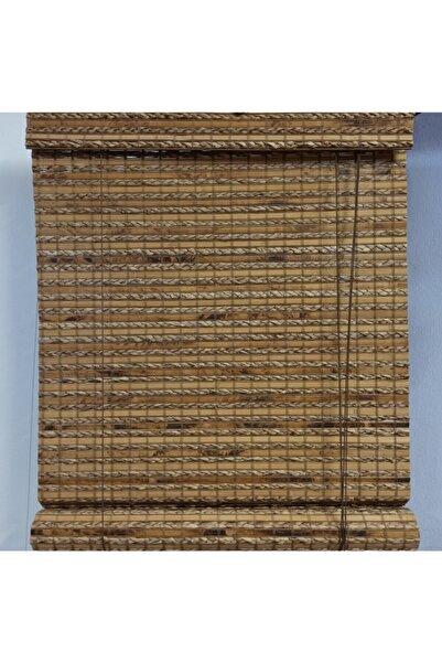 PERDELUX Ahşap Bambu Stor Perde