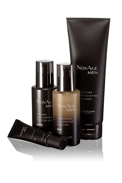Oriflame Novage Men Yaşlanma Karşıtı Cilt Bakım Seti Eua29446