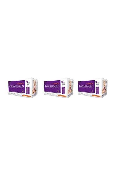 Suda Collagen Vişne Aromalı 30 X 40 ml Shot 3'lü Paket