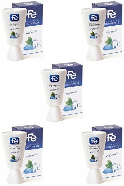 Fe Beyazlatıcı Diş Pastası Natural (naturel Florürlü) 90 gr 5 Adet
