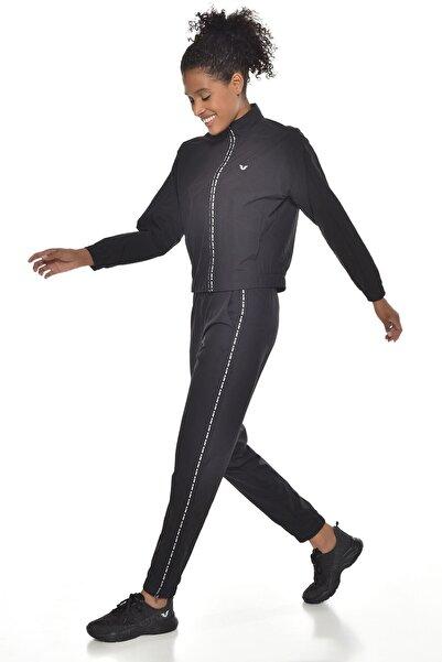 bilcee Siyah Kadın Eşofman Takımı GW-9096