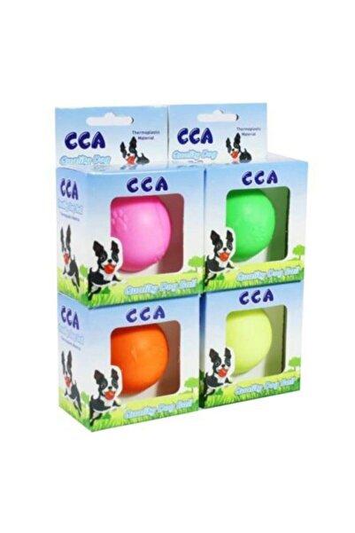 CCA Termoplastik Kokulu Pati Desenli Sert Köpek Oyun Topu 2 Numara