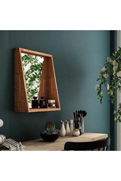 222 Concept Pastel Masif Tik Renk 50x45 Makyaj Aynası Cpt2330-50