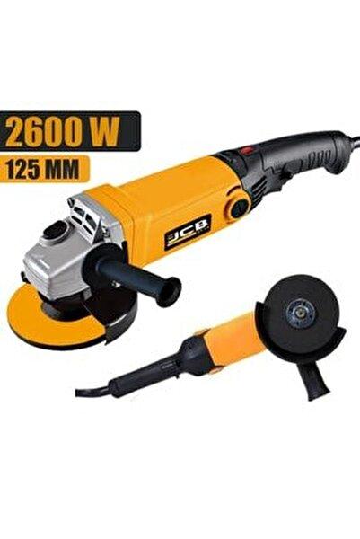 Jcb Pro Plus 2600 W 115-125 Mm Devir Ayarlı Professionel Taşlama Makinası