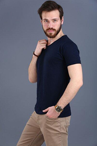 Nesrinden Erkek Lacivert T-shirt