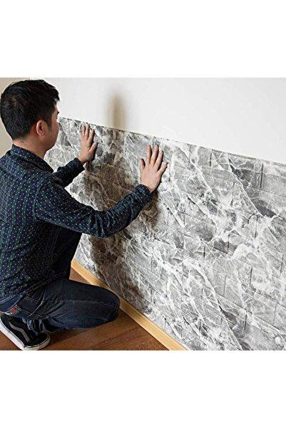 Renkli Duvarlar Nw13 Alaca Gri Tuğla Arkası Yapışkanlı Esnek Silinebilir Duvar Paneli