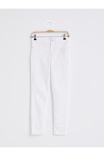 LC Waikiki Kadın Beyaz Pantolon