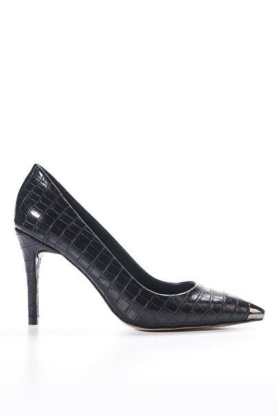 Louis Cardy Kadın Siyah Bing Topuklu Ayakkabı