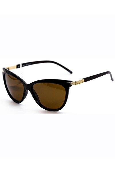 Toms Teddy Kadın Kahverengi Polarize Güneş Gözlüğü 7001-1 C202P