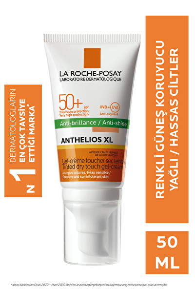La Roche Posay Anthelios Xl Spf 50+ Tinted Gel Cream 50ml