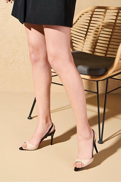 Louis Cardy Kadın Nude Tide Topuklu Ayakkabı
