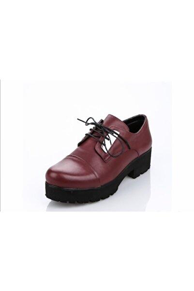 Greyder Kadın Bordo Ayakkabı 55611