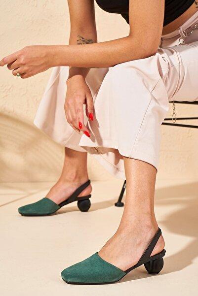 Louis Cardy Kadın Mint Abbey Hakiki Deri Topuklu Ayakkabı