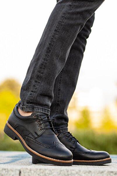 MUGGO Erkek Siyah Casual Ayakkabı M260