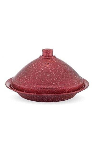 Hascevher 34 Cm Granit Tajin Tencere Kırmızı