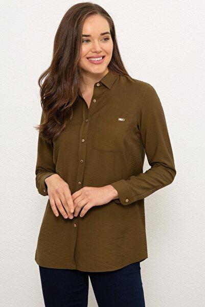 U.S. Polo Assn. Kadın Gömlek G082SZ004.000.1089870