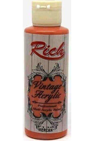 Rich 1130 Mercan Vintage Mat Akrilik Boya 130 ml