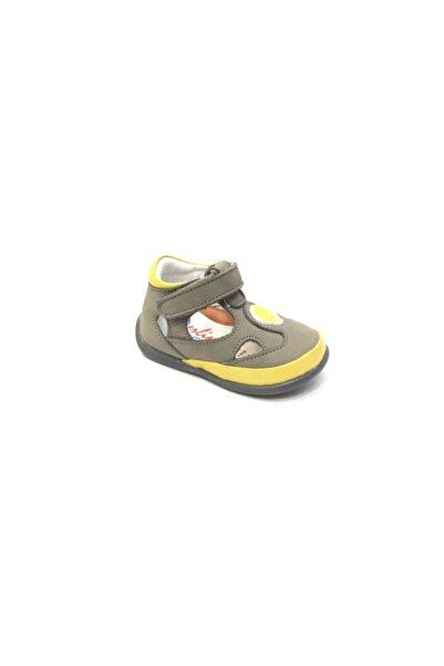 Perlina Unisex Çocuk Gri Ilk Adım Ayakkabı