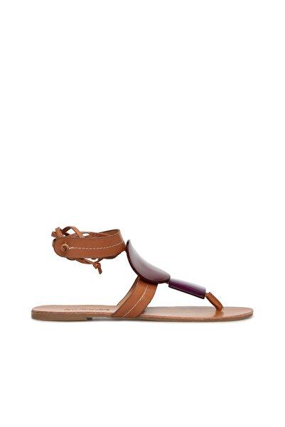 Dıvarese Kadın Camel Sandalet 5024303