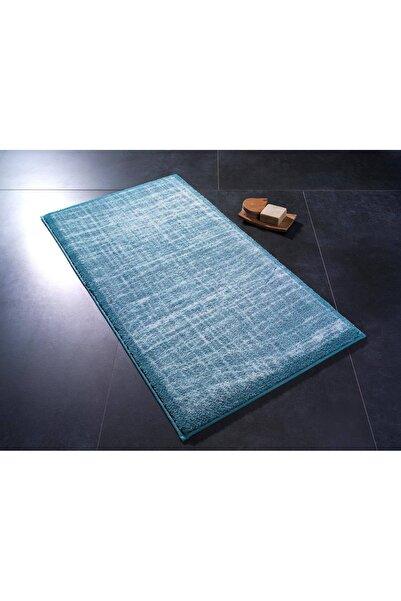 Confetti Stream02 Antik Mavi 57x100cm Banyo Halısı