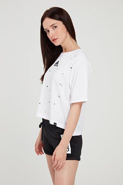 adidas Kadın T-Shirt -  Geo Gfx W  - FM5107