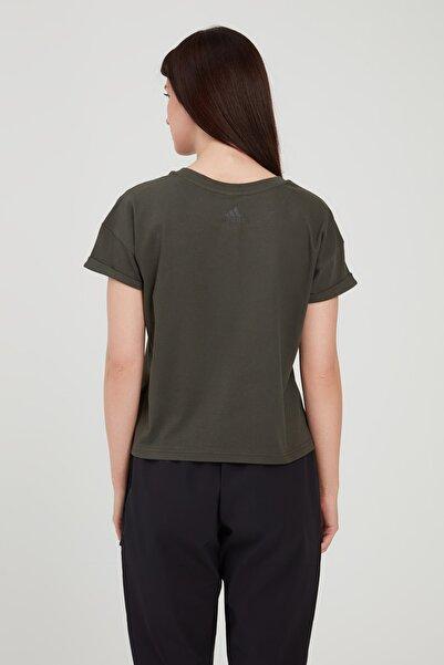 adidas W MH TYPE TEE Beyaz Kadın T-Shirt 101015872
