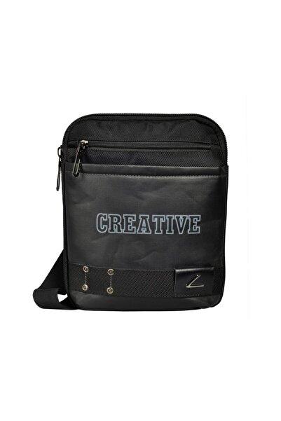 CREATIVE Crtv8551-0001 Siyah Unısex Çapraz Çanta