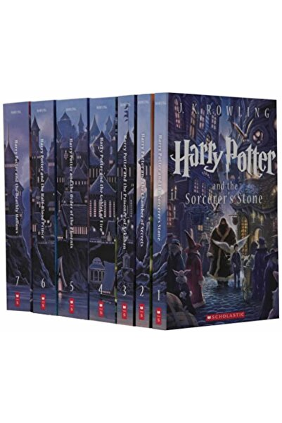 Scholastic Harry Potter Complete Book Series Special Edition Boxed Set