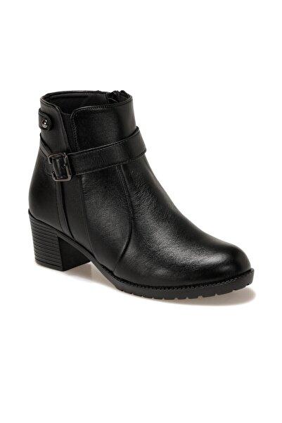 Polaris 161445.z Siyah Kadın Topuklu Bot