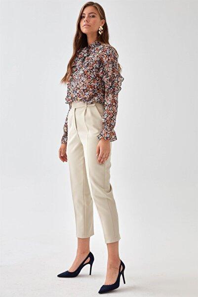 Chima Kadın Taş Kemeri Dilli Pantolon K21PA035