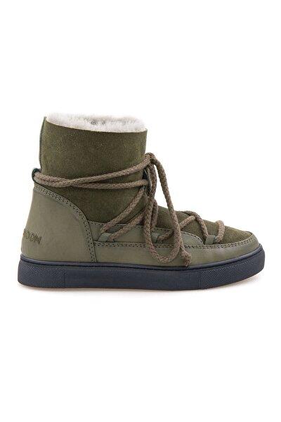 Cool Moon Hakiki Içi Kürk Kadın Sneaker 355050