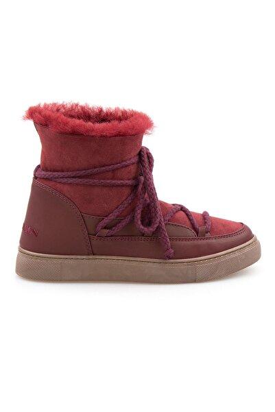 Cool Moon Hakiki Içi Kürk Bayan Sneaker 355050