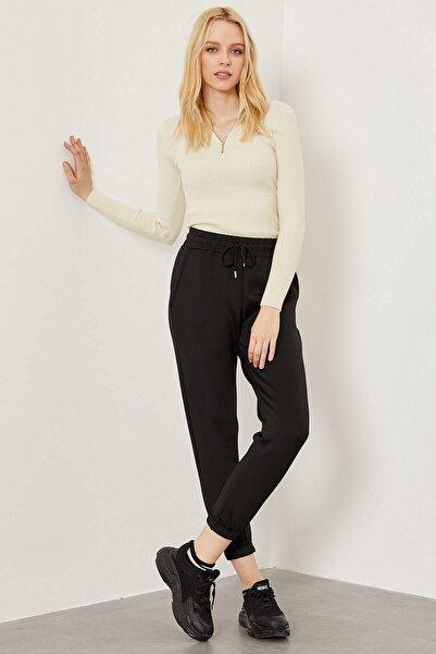 Arma Life Kadın Siyah Dalgıç Kumaş Pantolon