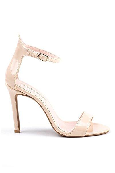 Louis Cardy Kadın Bej Bain Rugan Topuklu Ayakkabı