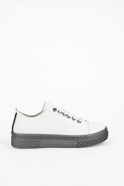 Ziya Punto By , Kadın Ayakkabı 103415 Z358009 Beyaz