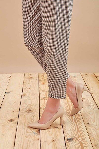 Louis Cardy Kadın Bej Gala Topuklu Ayakkabı