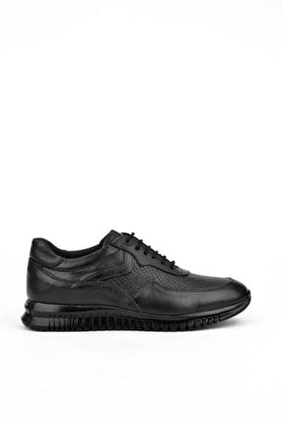 , Erkek Hakiki Deri Ayakkabı 103423 103 Sıyah