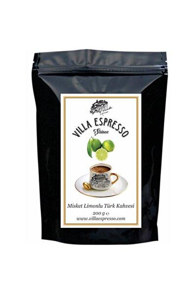 Villa Espresso Misket Limon Aromalı Türk Kahvesi 200 gr