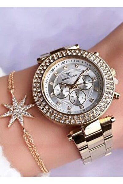 Kadın Saat - Bileklik Hediyeli