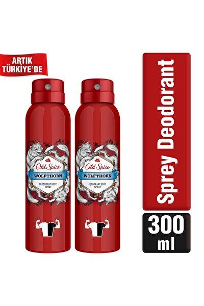 Old Spice Sprey Deodorant 150 ml Wolfthorn X 2