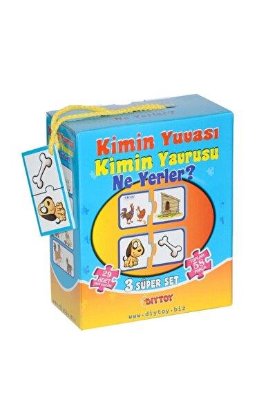 DIY Toys Kimin Yuvası Kimin Yavrusu Kart Oyunu