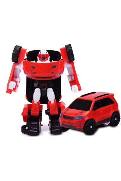 CİMCİME OYUNCAK Coa1 Mini Z Tobot Transformers Stil Dönüşebilir Oyuncak Araç Hem Robot Hem Araba 12 Cm.