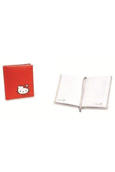 Hello Kitty Umur Defter Kırmızı Defter 10 X13 Cm 160 Yp.