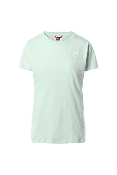 THE NORTH FACE Kadın Yeşil Simple Dome T-shirt T94t1awc7