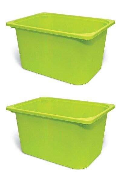 Vip Home Montessori Ikea Trofast Saklama Kutusu Oyuncak Saklama Kutusu X 2 Adet 42x30x23 Cm