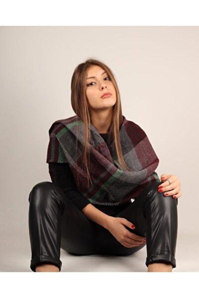 SP GİYİM Kadın Şal Atkı Yünlü Polyester