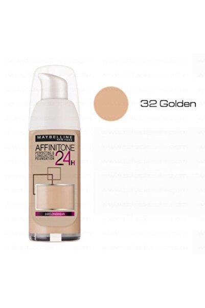 Maybelline New York Fondöten - Affinitone Foundation 24h 032 Golden