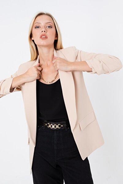 Lafaba Kadın Bej Blazer Ceket